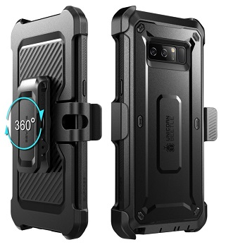 the latest 234d5 fc7a1 Samsung Galaxy Note 9 Unicorn Beetle Pro Full Body Rugged Holster ...