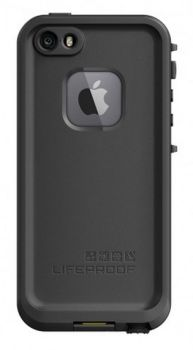 Apple-iPhone-5-5S-Lifeproof-Fre-Case-Black
