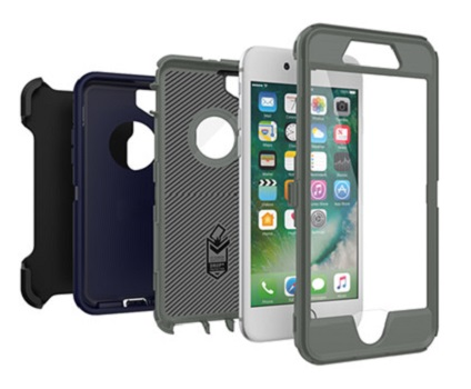 Apple iPhone 6S/7/8 Otterbox Defender Case (Stormy Peaks) from