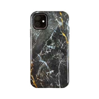 Apple-iPhone-11-Uunique-Nutrisiti-Eco-Printed-Marble-Back-Case-Dark-Star-Marble
