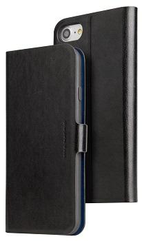 detailed look dc0af 26f93 Apple iPhone 7/8 Viva Madrid Finura Cierre Folio Case (Black) from ...