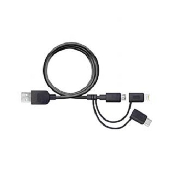 Puregear-3-in-1-Micro-USB-to-Lightning-to-USB-C-Charge-and-Sync-Cable-120cm-Black