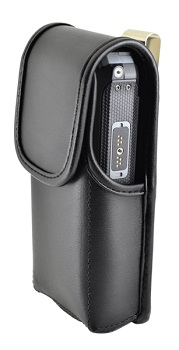 Sonim-XP5s-Leather-Pouch-with-Metal-Clip-Black