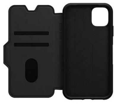 Apple iPhone 11 Otterbox Leather Strada Folio Case (Shadow)