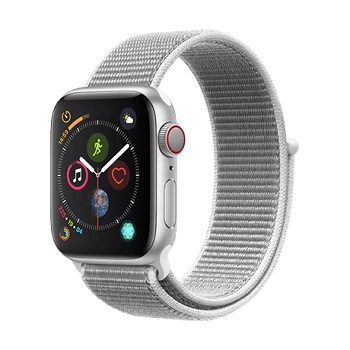 Apple-Watch-Series-4-GPS-Cellular-40mm-Silver-Aluminum-Case-Seashell-Sport-Loop