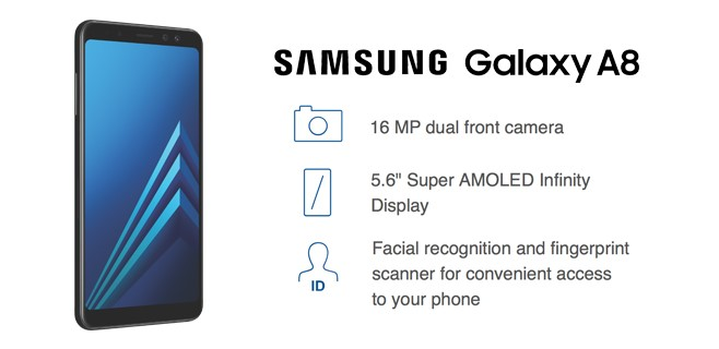 Order The Samsung Galaxy A8 Today!