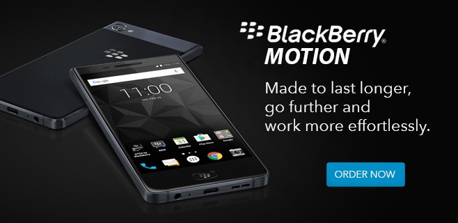 Buy The BlackBerry Motion!