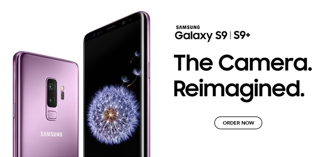 Order The Samsung Galaxy S9/S9+