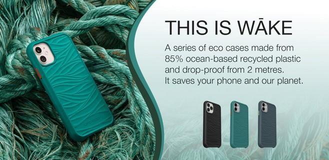 LifeProof Wake Recycled Plastic Cases