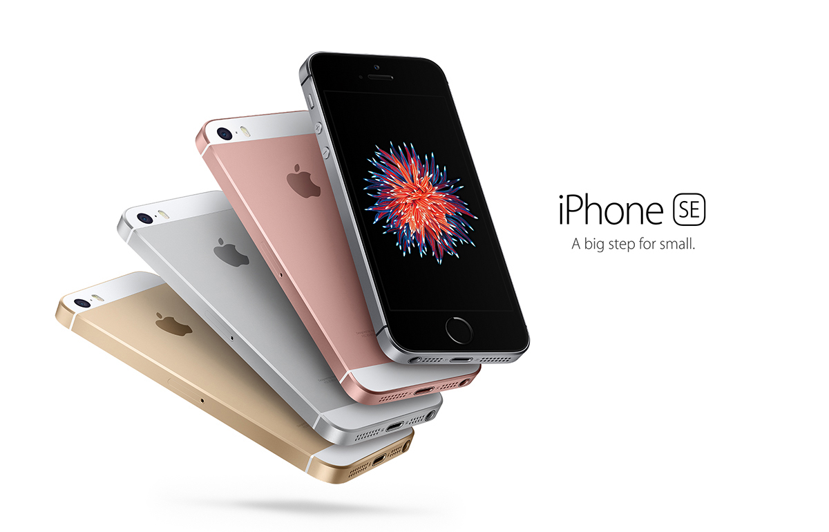 Apple iPhone SE: A big step for small.